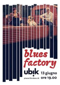 locandina blues factory